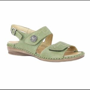 Josef Seibel Georgia Green Sandals 39